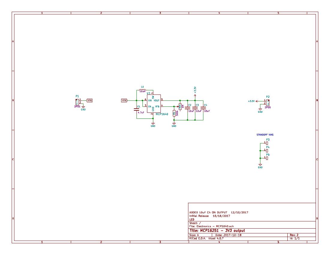 Electronics - MCP1640