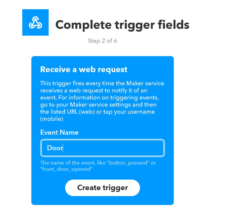 IFTTT - Trigger