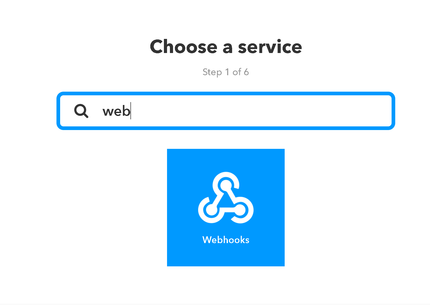 IFTTT - Webhooks
