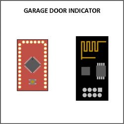 Visio - Garage door indicator