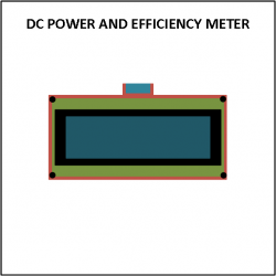 Cover - dc power and efficiency meter